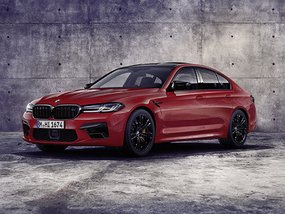 BMW M5 gets styling makeover along with a bigger kidney grille