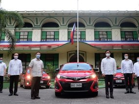 DOH gets 30 Vios units from Toyota Motor Philippines