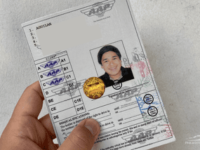 How can I apply for an international driver's license?