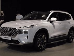 Check out 2021 Hyundai Santa Fe's gorgeous design in the metal