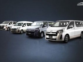 Which variant of the Toyota Hiace should you buy? [Philkotse Guide]