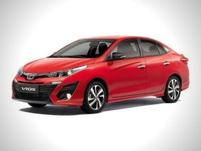 Toyota PH is selling the Vios with as low as P6.5K monthly payment
