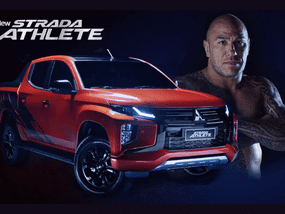 Brandon Vera is exactly what the 2020 Mitsubishi Strada Athlete represents