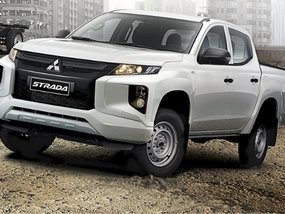 Mitsubishi Strada GLX Plus 4x2 MT with good amortization