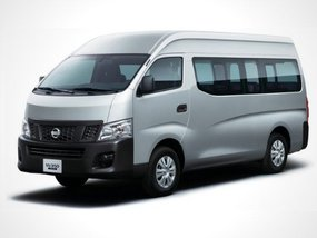 Nissan NV350 Urvan Premium MT with good downpayment