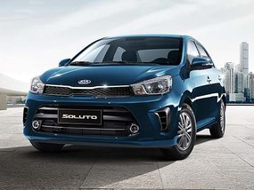 Kia Soluto 1.4 LX MT with P40,000 Cash Discount