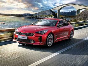 Kia Stinger 3.3 V6 GT with discount for paying cash