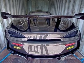One of 350 McLaren 620R units in the world seized at Port of Manila