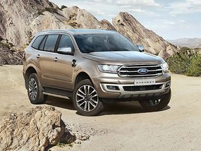 Ford Everest 2.0 Biturbo Titanium 4X4 AT with discount for paying cash