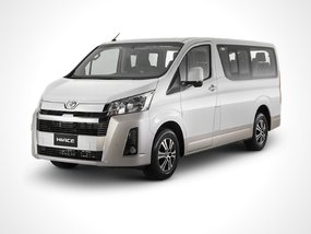 Toyota Hiace Commuter Deluxe MT with P229,000 All-in Downpayment