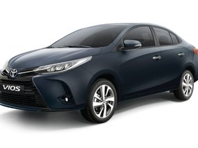 Toyota Vios 1.3 J MT with P52,000 All-in Downpayment