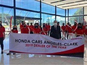 Honda Cars Angeles-Clark hailed as 2019 Dealer of the Year