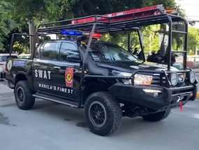 City of Manila receives the most badass police cars we've ever seen