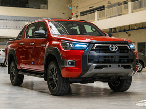 Toyota Hilux 2.4 G DSL 4x2 AT with P120,000 All-in Downpayment
