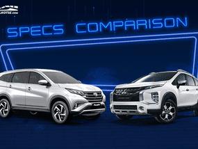 2020 Mitsubishi Xpander Cross vs Toyota Rush Comparison: Spec Sheet Battle