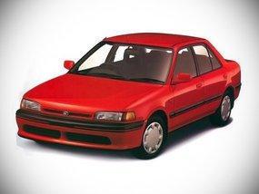 Mazda 323 6th-gen: Mazda's entry to the 90s local sedan segment