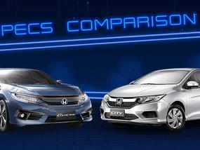 Sib Duel: 2020 Honda City vs Honda Civic Specs Comparison