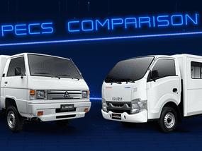 2020 Isuzu Traviz vs Mitsubishi L300 Comparison: Spec Sheet Battle