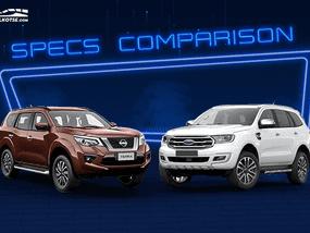 2020 Nissan Terra vs Ford Everest Comparison: Spec Sheet Battle