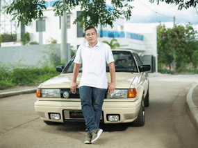 The love affair between this man and his Nissan California