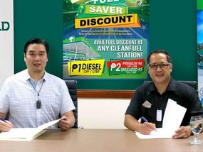 Get generous fuel discounts with Cleanfuel and Puregold