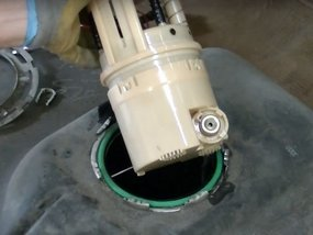 What's the price of replacing a fuel pump in the Philippines?