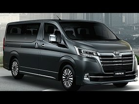 Toyota Hiace Commuter Deluxe 2.8 MT with good downpayment