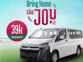 Toyota Hiace Commuter Decontent 3.0 DSL MT With ₱39,000 All-in Down payment