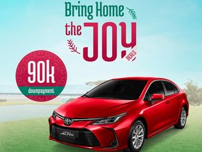 Toyota Altis 1.6 G CVT With ₱174,000 All-in Down payment