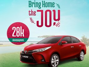 Toyota Vios 1.3 XLE MT With ₱17,000 All-in Down payment