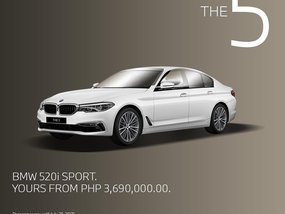 BMW 520I Sport With Good Amortization