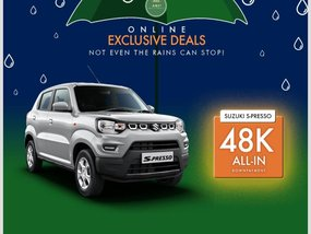 Suzuki S-Presso MT With ₱32,000 Cash discount