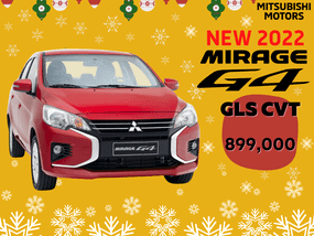 Mitsubishi Mirage G4  GLX  With ₱18,000 All-in Down payment