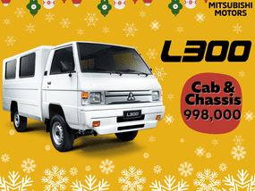 Mitsubishi L300 2.2D MT with FB Body With ₱22,000 All-in Down payment