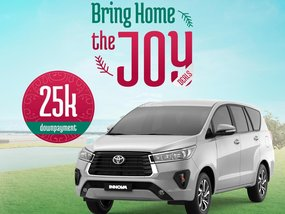 Toyota Innova G DSL AT With ₱207,000 All-in Down payment