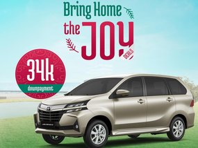 Toyota Avanza E AT With ₱108,000 All-in Down payment