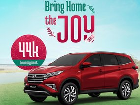 Toyota Rush E AT With ₱146,000 All-in Down payment