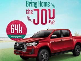 Toyota Hilux 4X2 Conquest AT With ₱237,000 All-in Down payment