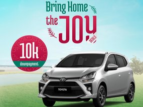 Toyota Wigo 1.0 E MT With ₱51,000 All-in Down payment