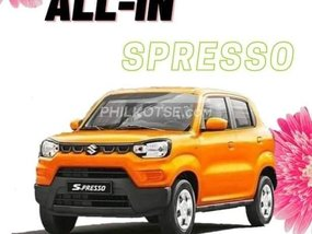 Suzuki S-Presso MT With ₱49,000 All-in Down payment