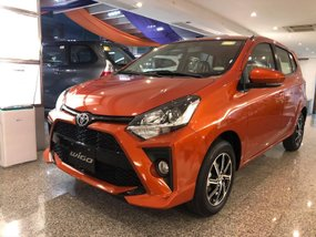 Toyota Wigo G AT With ₱75,000 All-in Down payment