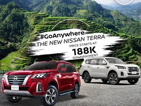 Nissan Terra 4X2 EL MT With ₱188,000 All-in Down payment