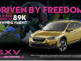 Subaru XV 2.0i-S Eyesight CVT 2021 With ₱89,000 All-in Down payment