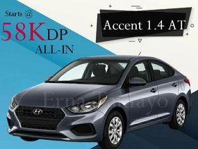 Hyundai Accent 1.4 AT With Good Amortization