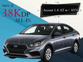 Hyundai Accent 1.4 AT w/ AVN With Good Amortization