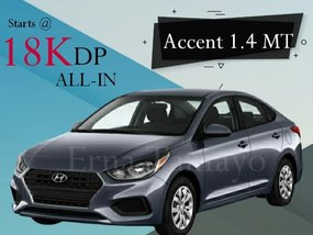 Hyundai Accent 1.4 MT With Good Amortization