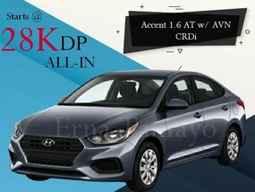 Hyundai Accent 1.6 AT w/ AVN CRDi With Good Amortization