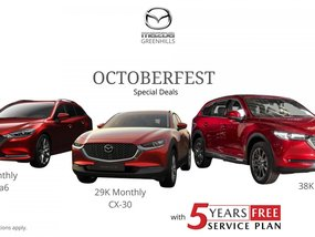Mazda CX-8 Selected Variants With ₱38,000 Monthly payment
