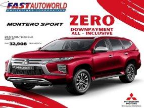 Mitsubishi Montero Sport GLX 4x2 MT With Zero Down payment