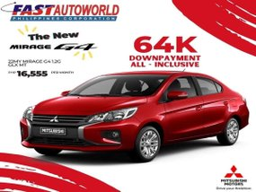 Mitsubishi Mirage G4 1.2G GLX MT With ₱16,555 Low monthly
